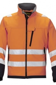 1213 High-Vis Soft Shell Jacket, Class 3